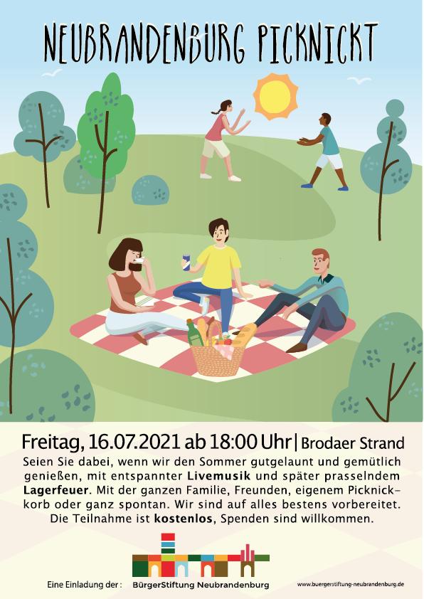 Neubrandenburg picknickt